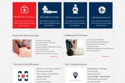 , Medical Training Website Design, Pulley Media: Digital Marketing