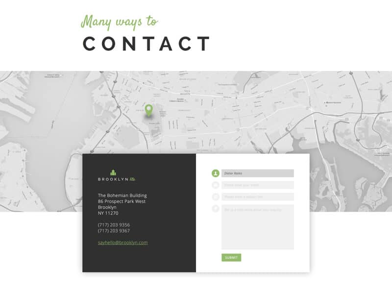 contact form, 10 Creative, Converting, Contact Form Designs for 2016, Pulley Media: Digital Marketing